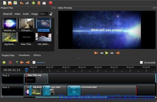 Aplikasi Video Maker Terbaik Untuk Windows 10 - OpenShot