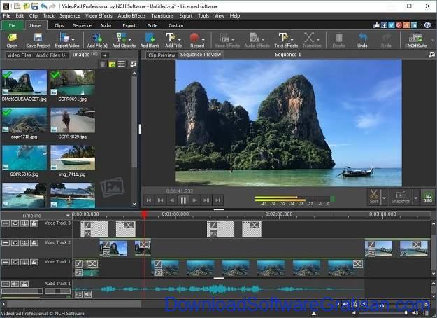 Aplikasi Video Maker Terbaik Untuk Windows 10 - Videopad