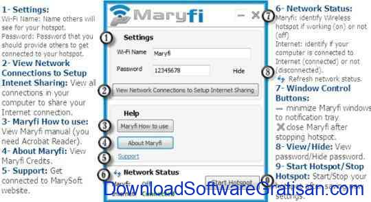 Aplikasi WIFI Maryfi