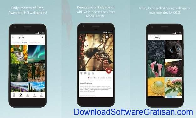 Aplikasi Wallpaper Keren Android - Backgrounds HD Wallpapers
