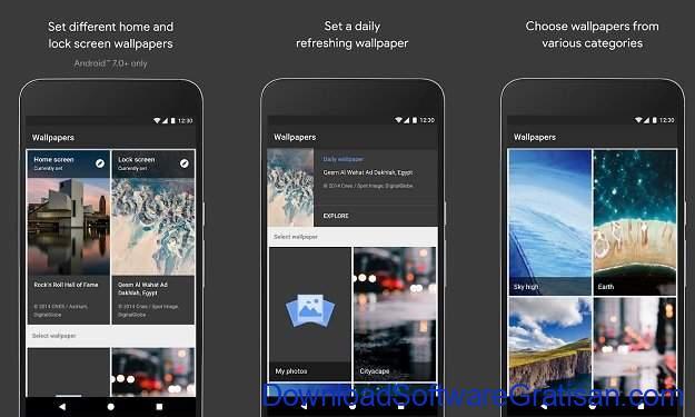 Aplikasi Wallpaper Keren Android - Wallpaper