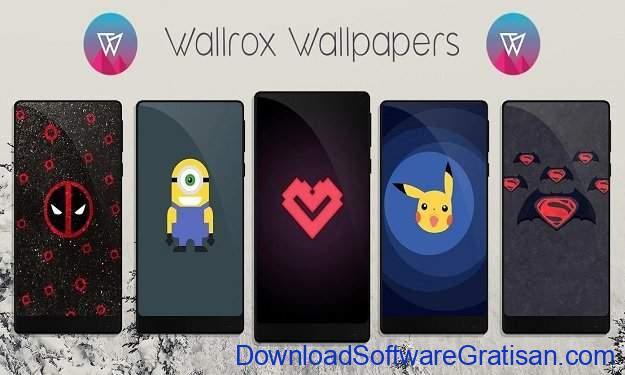 Aplikasi Wallpaper Keren Android - Wallrox Wallpapers