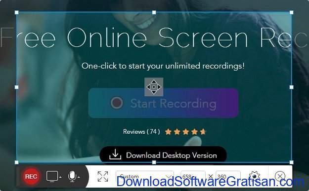 Aplikasi Webcam Terbaik untuk PC atau Laptop Apowersoft Free Online Screen Recorder