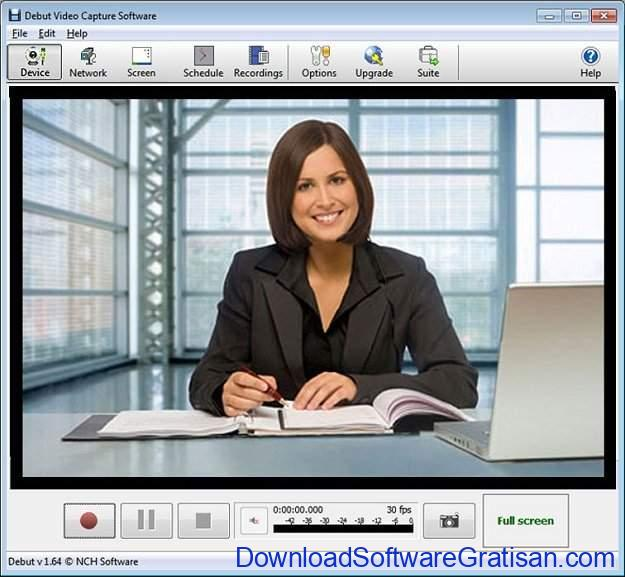 Aplikasi Webcam Terbaik untuk PC atau Laptop Debut Video Capture Software