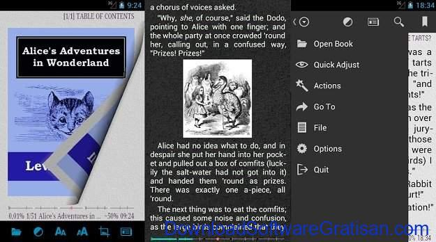 Aplikasi eBook Reader Android AIReader