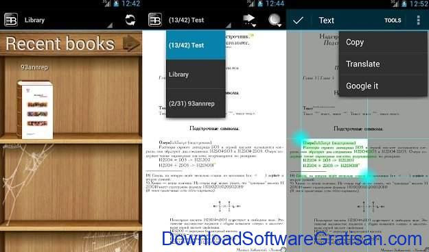 Aplikasi eBook Reader Android EBookDroid