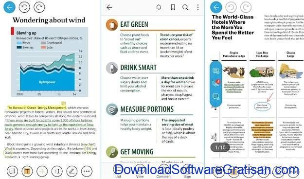 Aplikasi eBook Reader Android Foxit