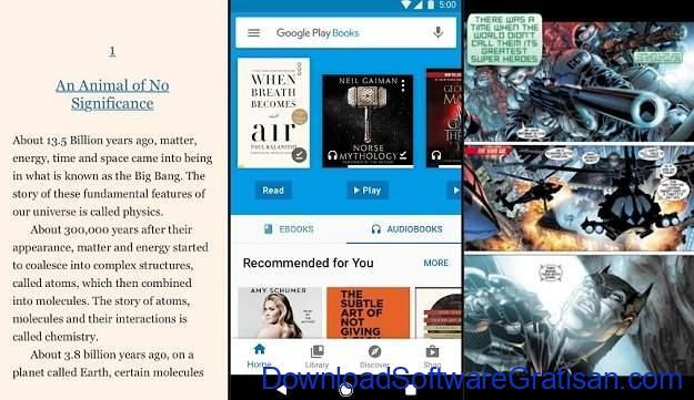 Aplikasi eBook Reader Android Google Play Books 2