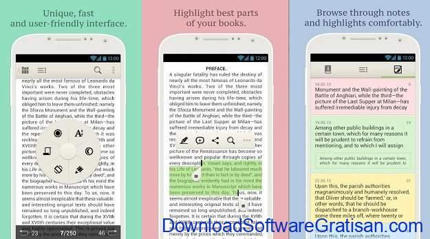 Aplikasi eBook Reader Android PocketBook