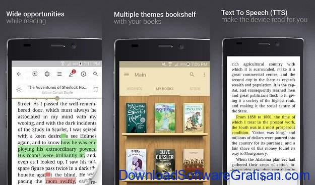 Aplikasi eBook Reader Android Prestigio
