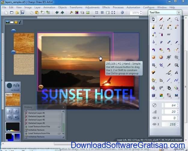 Chasys Draw IES PC photo editing app