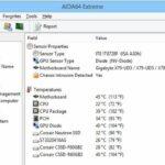 Aplikasi pemanta suhu CPU PC gratis terbaik AIDA64 Extreme