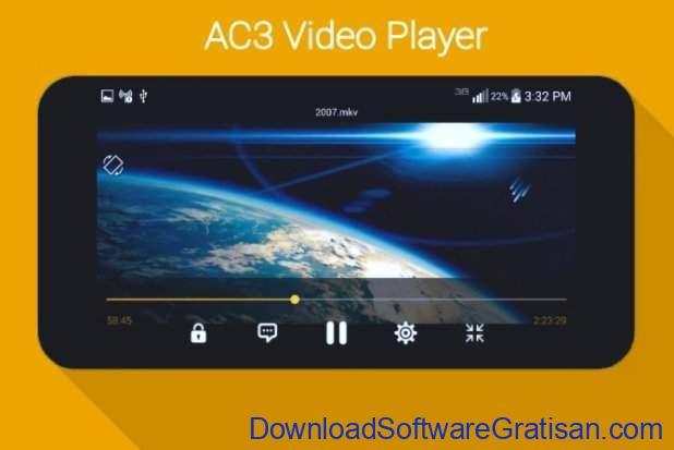 Aplikasi pemutar video gratis terbaik untuk Android AC3 Player