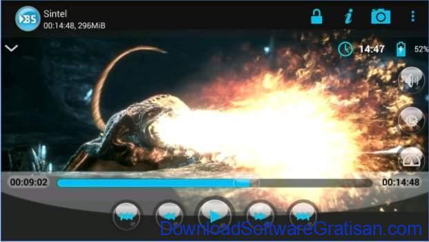 Aplikasi pemutar video gratis terbaik untuk Android BSPlayer FREE