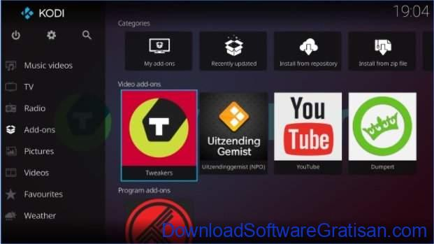 Aplikasi pemutar video gratis terbaik untuk Android Kodi