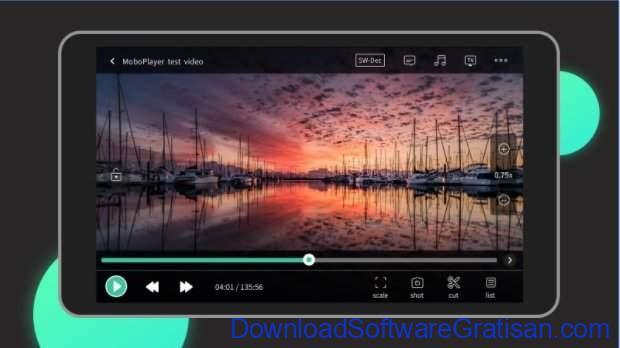 Aplikasi pemutar video gratis terbaik untuk Android MoboPlayer