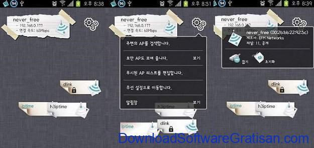 Aplikasi penguat sinyal wifi WiFi Connect