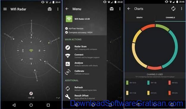 aplikasi penguat wifi gratis terbaik android Aplikasi penguat sinyal wifi Wifi Radar
