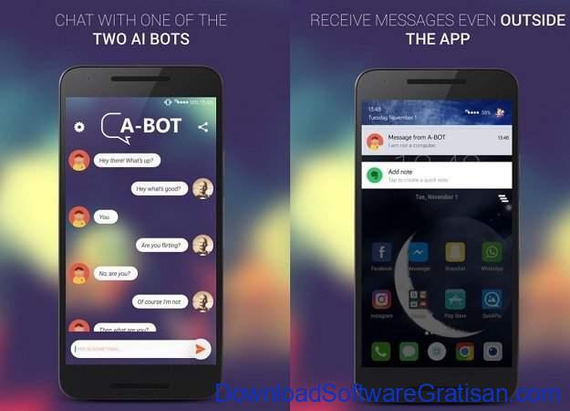 Aplikasi unik Android yang mungkin tidak pernah kamu bayangkan A-BOT