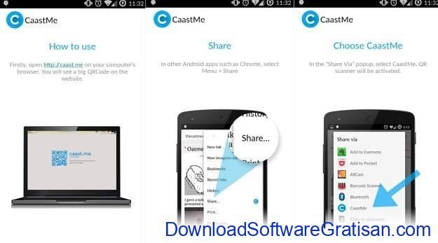 Aplikasi unik Android yang mungkin tidak pernah kamu bayangkan CaastMe