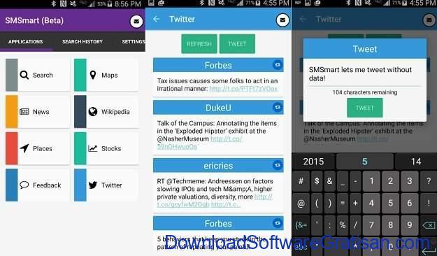 Aplikasi unik Android yang mungkin tidak pernah kamu bayangkan SMSmart