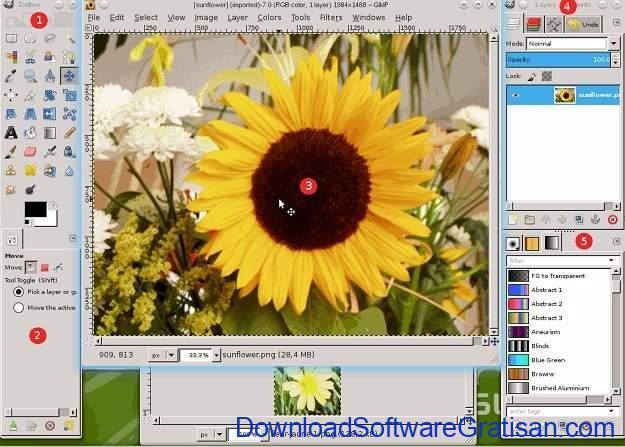 Aplikasi untuk Desain Gambar Gratis Terbaik GIMP
