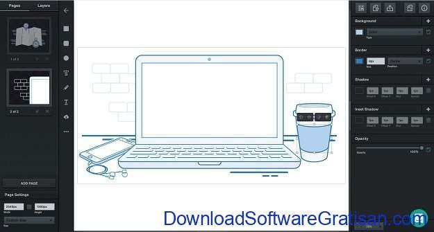 Aplikasi untuk Desain Gambar Gratis Terbaik Vectr