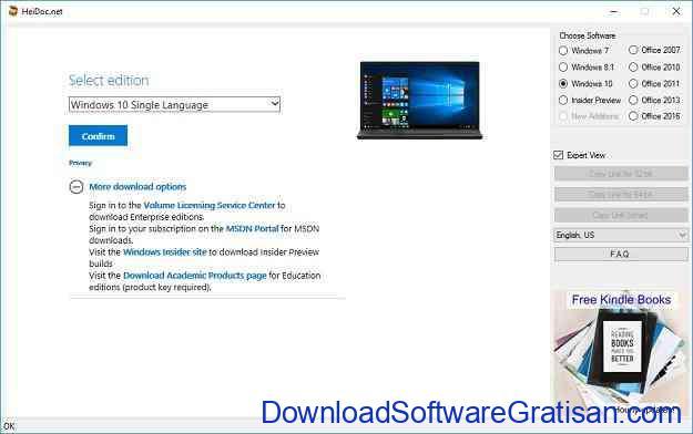 Aplikasi untuk Download File ISO Windows dan Office