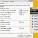 Aplikasi untuk Memantau dan Merawat Baterai Laptop BatteryCare