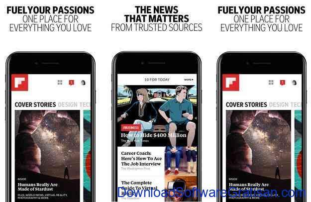 Aplikasi untuk Membaca Berita Terbaru Flipboard
