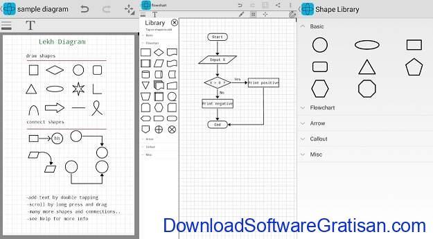 Aplikasi untuk Membuat Diagram di Android Lekh Diagram