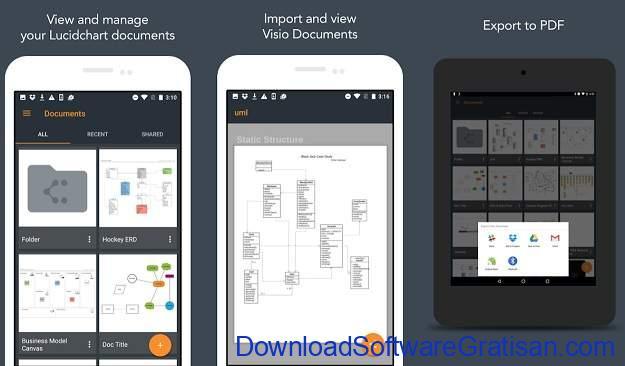 Aplikasi untuk Membuat Diagram di Android Lucidchart