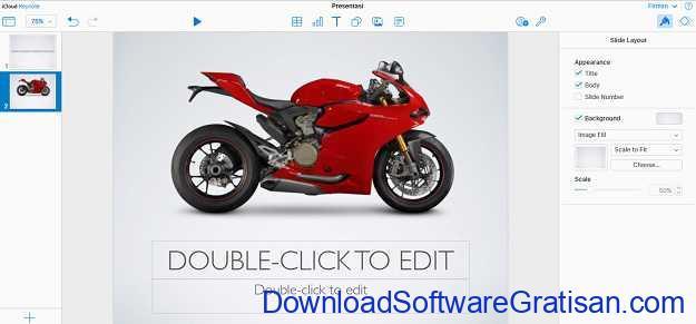 Aplikasi untuk Membuat Presentasi Gratis Seperti PowerPoint iCloud Keynote