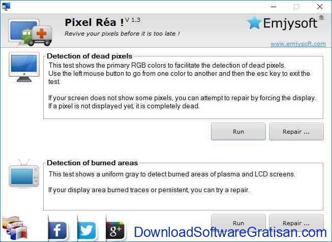 Aplikasi untuk Memperbaiki Mendeteksi Dead Pixel Monitor LCD