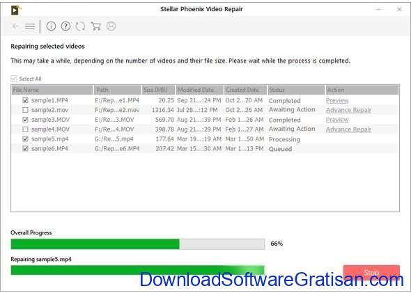 Aplikasi untuk Memperbaiki Video yang Rusak Stellar Phoenix Video Repair