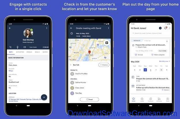 Aplikasi untuk Mengelola Data Pelanggan di Android - Freshsales