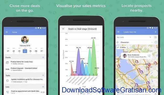 Aplikasi untuk Mengelola Data Pelanggan di Android - Zoho CRM