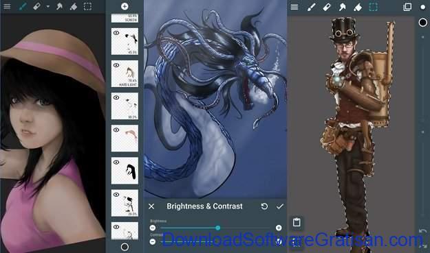 Aplikasi untuk Menggambar di Android ArtFlow