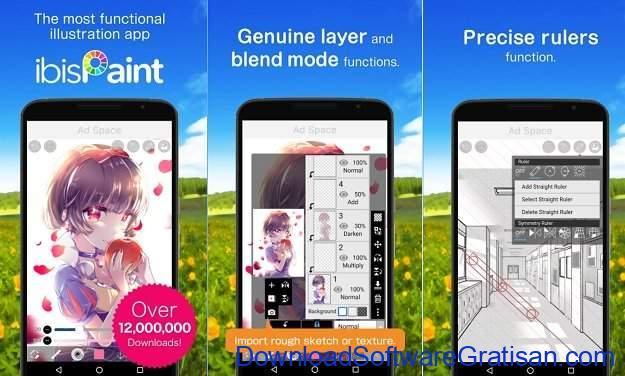 Aplikasi untuk Menggambar di Android Ibis Paint