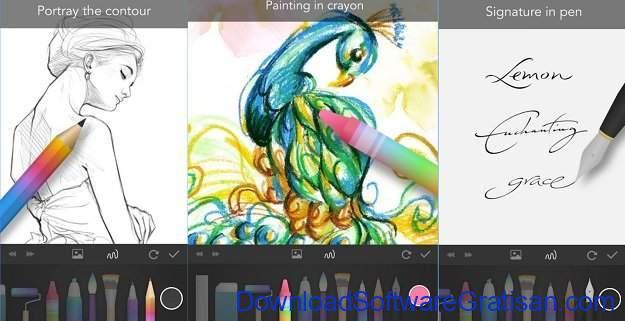 Aplikasi untuk Menggambar di Android PaperOne
