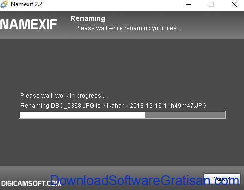 Aplikasi untuk Mengganti Nama Foto & Video Berdasarkan Waktu & Tanggal Namexif SS4
