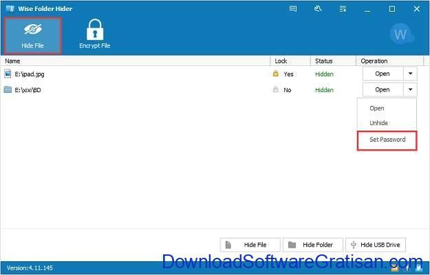 Aplikasi untuk Proteksi File di Komputer - Wise Folder Hider