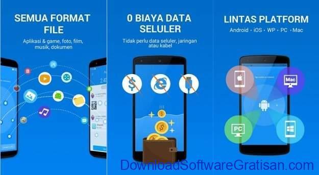 Aplikasi untuk Transfer File Antar Perangkat Shareit