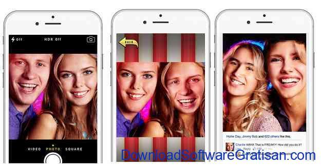 Aplikasi video tukar wajah Face Juggler Free