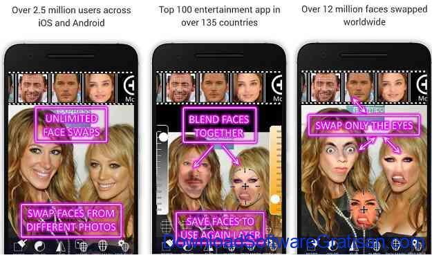 Aplikasi video tukar wajah Face Swap Booth