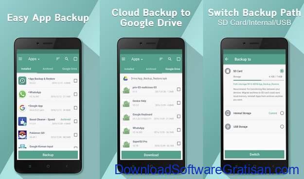 Backup Apps Android Gratis Terbaik - Backup and restore