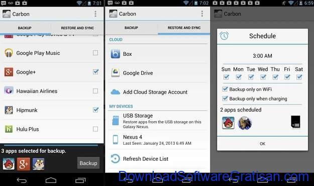 Backup Apps Android Gratis Terbaik - Helium