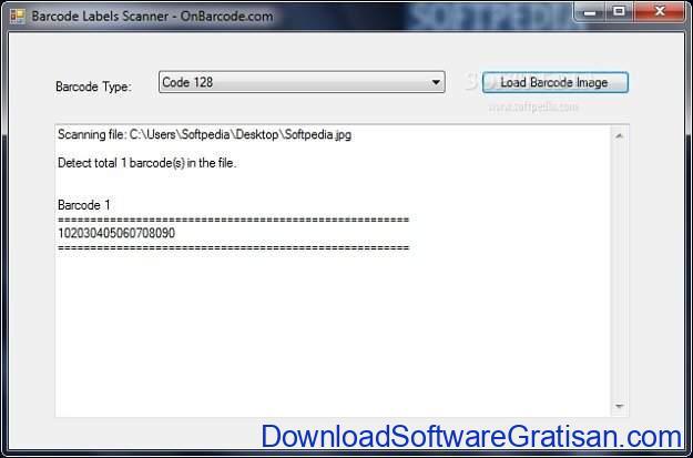 Aplikasi Pemindai Barcode Gratis Terbaik untuk Windows Barcode Labels Scanner
