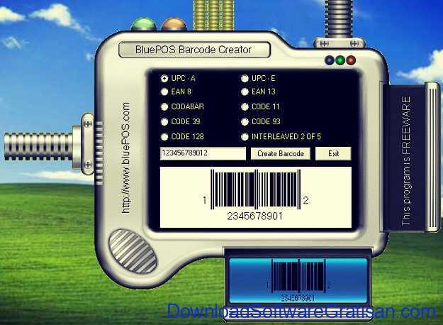 BluePOS Barcode Creator