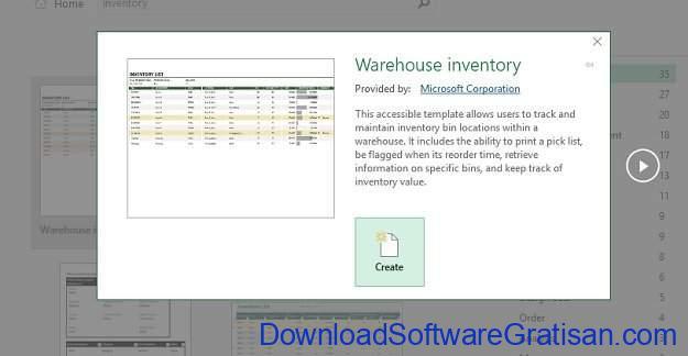 Cara Bikin Stok Barang Menggunakan Microsoft Excel Template Create
